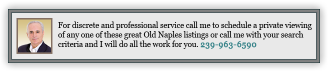 Old Naples Real Estate