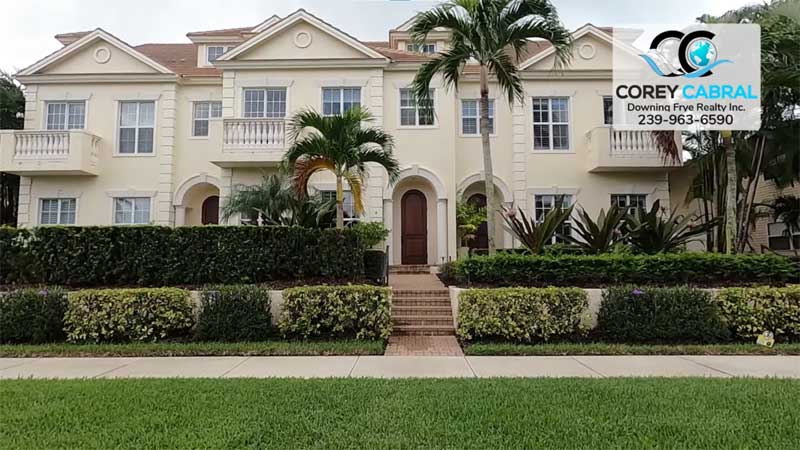 Casa Bello Condo Real Estate in Old Naples, Florida