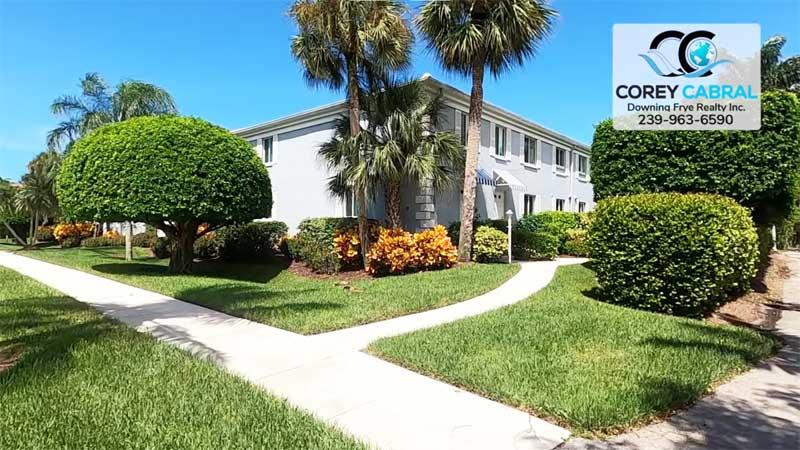 Devon Court Condo Real Estate in Old Naples, Florida