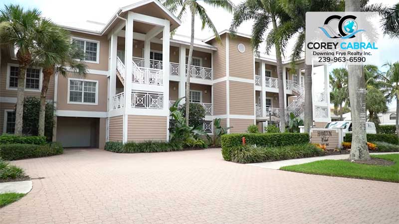 Hamilton Club Condo Real Estate in Old Naples, Florida