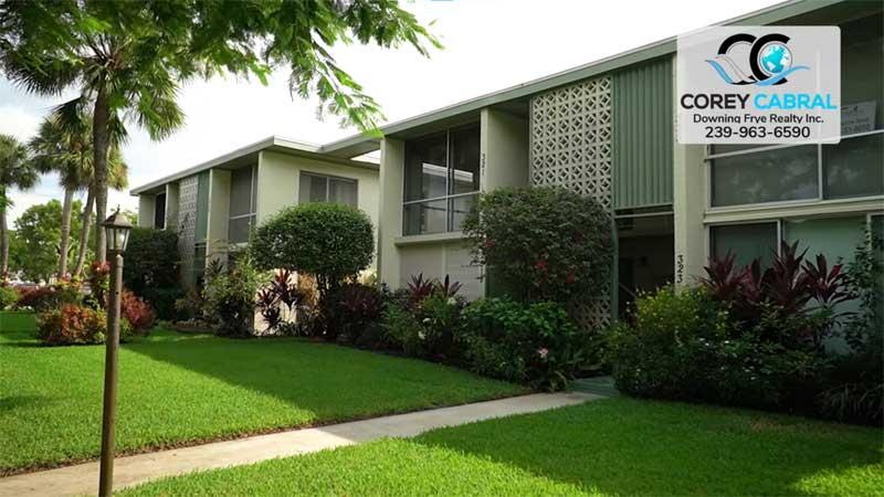 Naples Larchmont Condo Real Estate in Old Naples, Florida