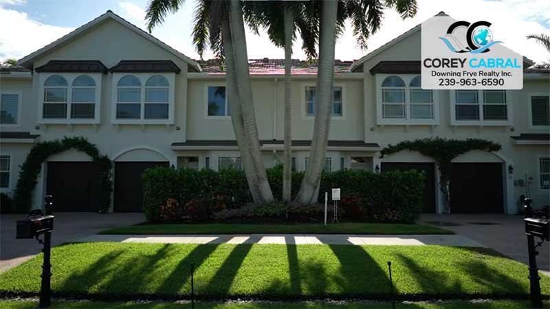 Royal Palm Villas Real Estate in Old Naples, Florida