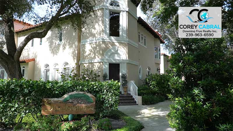 Shadowmoss Condo Real Estate in Old Naples, Florida