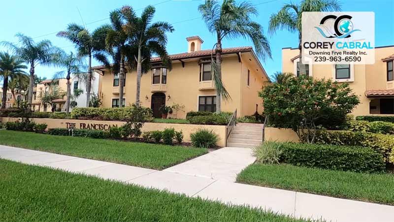 Franciscan Condo Real Estate in Old Naples, Florida