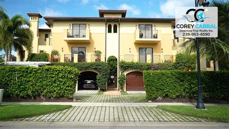 Villas Escalante Real Estate Old Naples, Florida