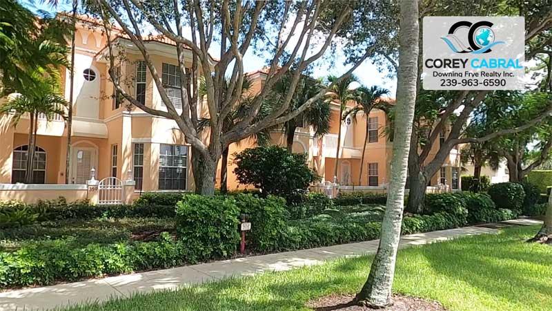 Villas Torino Condo Real Estate in Old Naples, Florida