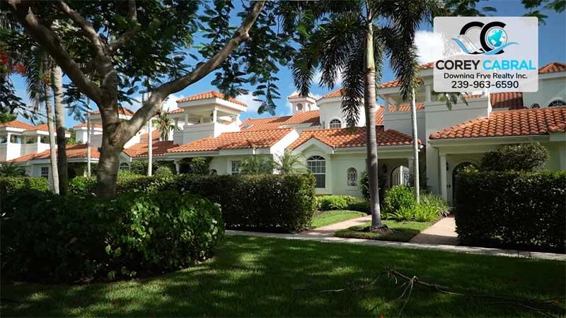 Villas del Mar Real Estate Old Naples, Florida